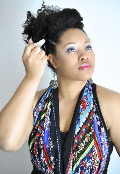 Ebony Clark on Challenge 2