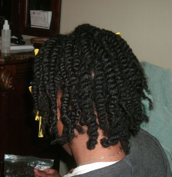 Natural Hairstyle for America's Next Natural Model