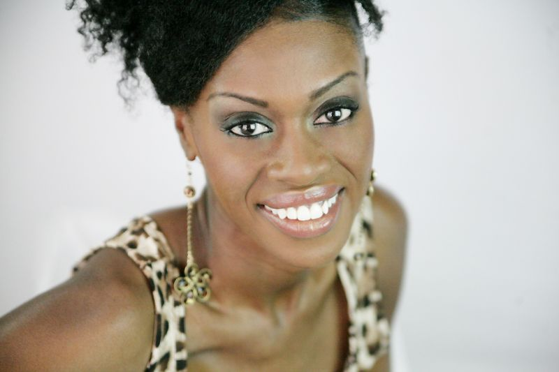 Reshonda for Iman Cosmetics