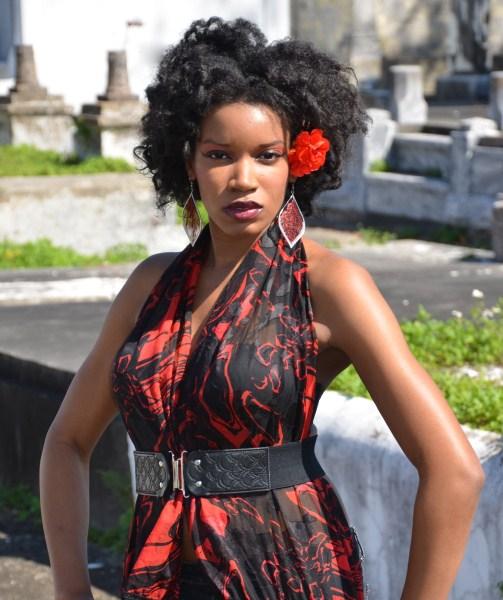 Lydia's Kumba Out Hairstyle