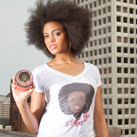 Soulseed Tees/ I Love My Fro