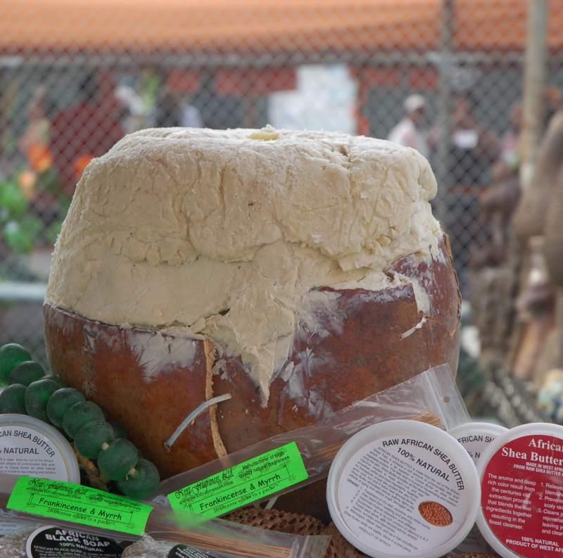 Pure shea butter from Ghana Africa