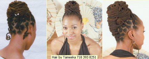 Natural hairstyles by Tameeka Bacchus