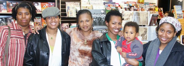 Going Natural Book signing at Karibu Books in Forestville, Maryland