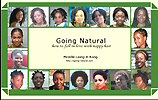 Going Natural How to Fall in Love with Nappy Hair Book Cover