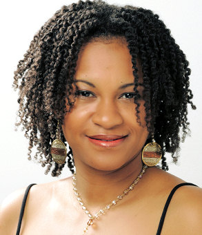 Afro Curls Hairstyle