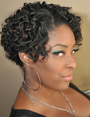 natural hairstyles of locs arlette