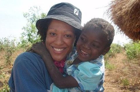 Aysha Cooper in Zimbabwe