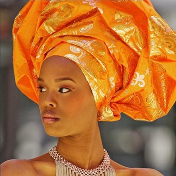 Aso Oke Headwrap