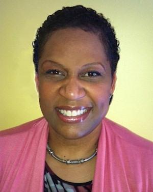 Karen Chambers of Iman Cosmetics