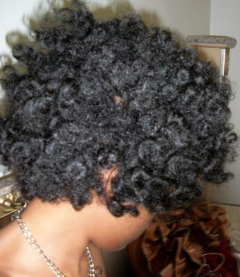 Shanika's Natural hairstyle and story
