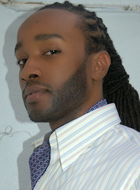 Black man with Dreadlocks in the workplace