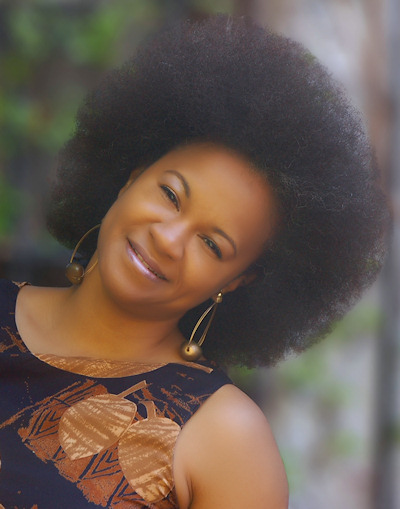 how to create a streched Afro