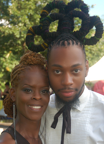 going Natural hair show