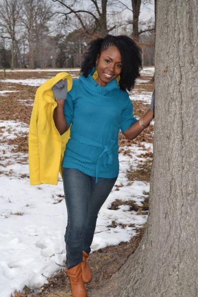 Nina Ellis for America's Next Natural Model challenge 1