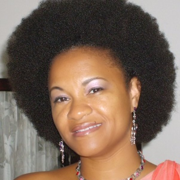 Big Dense Afro Natural HairStyle in Suriname