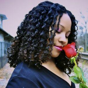 Ebony's Valentine Twist Out