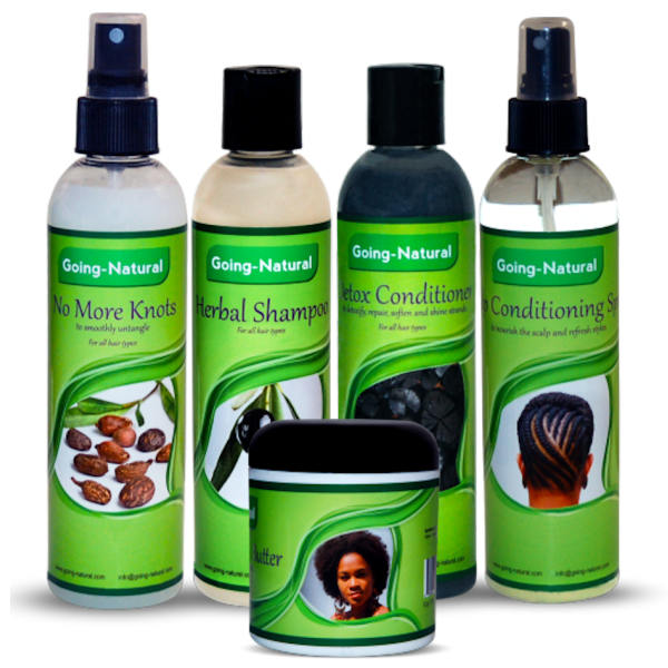 going natural hair products for braids