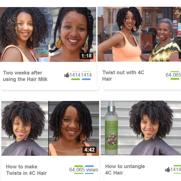 Natural Hair Care Videos
