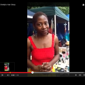 Shelly's going natural video diary