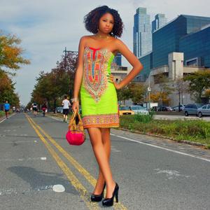 Tafari Tribe African Print Dress