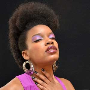 Fro-Hawk with going-natural hair Care Products