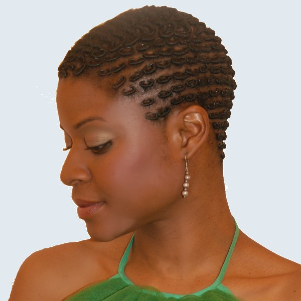 Hairstyle for Short Natural Hair