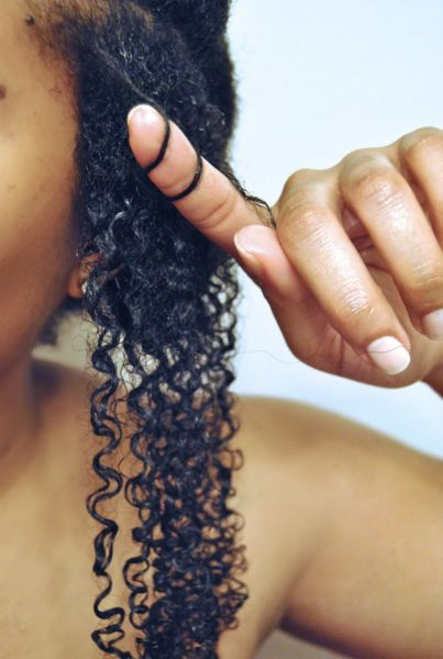 Curl Definition for America's Next Natural Model