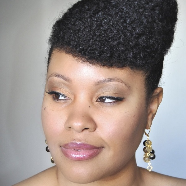 Ebony Clark - Complement the designers' garments with a suitable hairdo