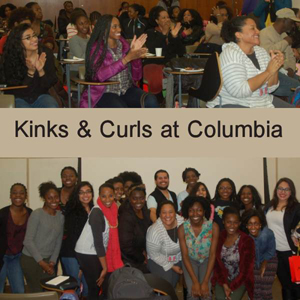 Kinks and Curls at Columbia