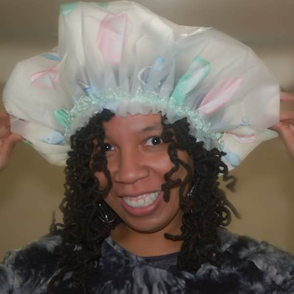 shower cap for big hair or long dreadlocks