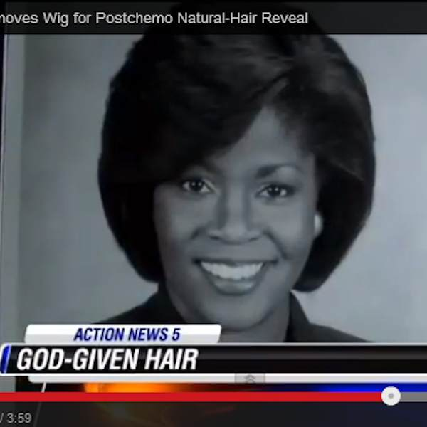 News Anchor Transition to Natural Hair Postchemo