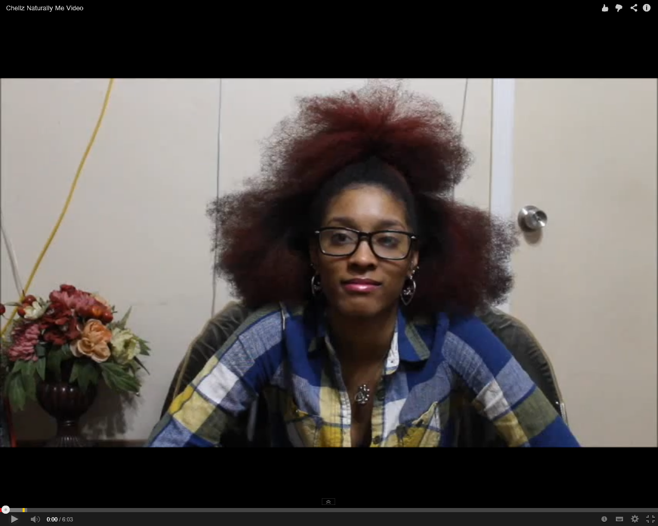 Chellz Naturally Me Going Natural Video Diary
