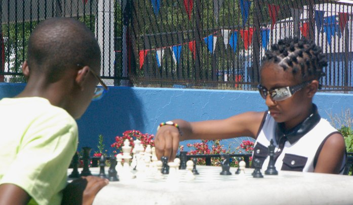Chess at the African Festival
