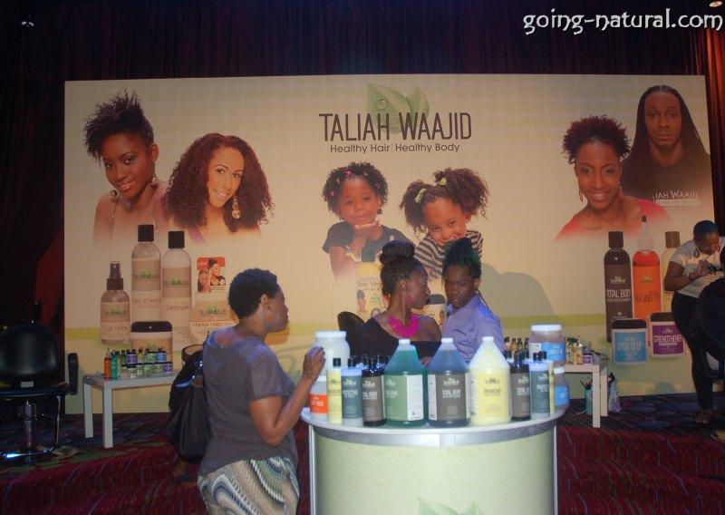Taliah Waajid World Natural Hair, Health & Beauty show