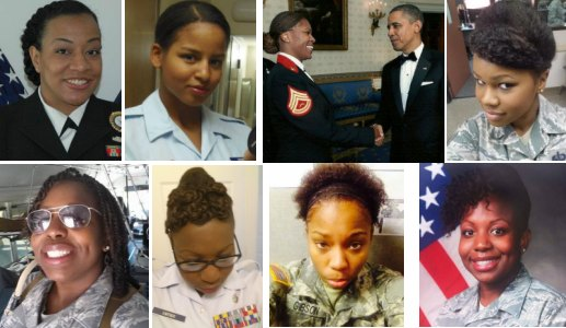 US Army and Natural Hair