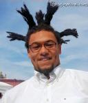 natural hairstyle air dreads dreadlocks
