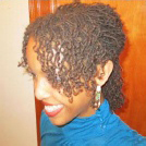 natural hairstyle sisterlocks