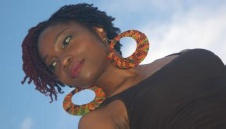 black natural hair style twists