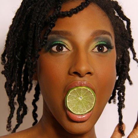 Teesha Borum of America's Next Natural Model 2008