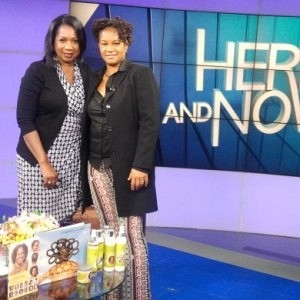 Going natural at Here and Now TV Show