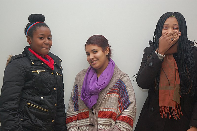Students at the Women of Color & Identity Conference