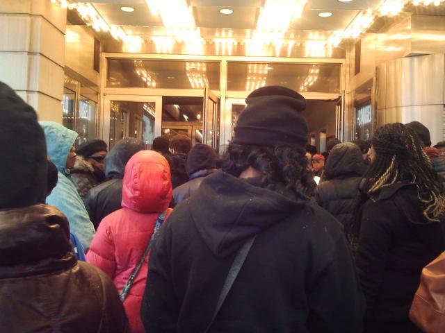 MLK Day Uptown Hall Meeting Apollo