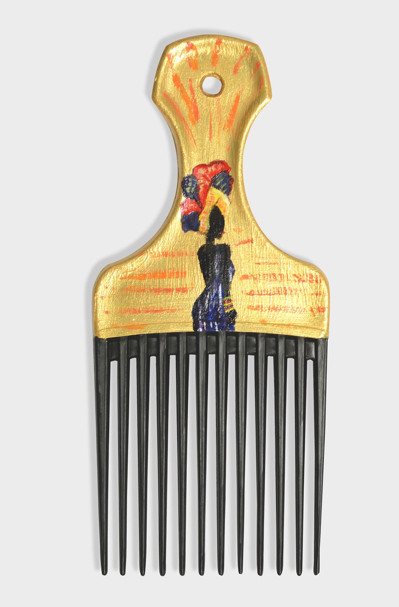 empress afro comb