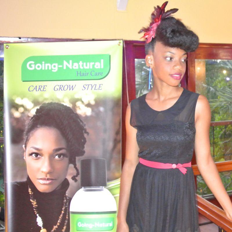 going natural hair care slecht haar ontworteld haarmodel2