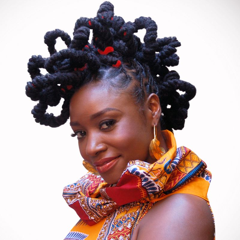 Locked in Dreadlocks hairstyle for the holidays