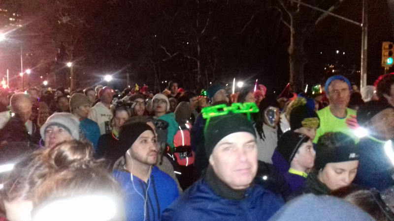midnight run central park nyc 2017 crowd