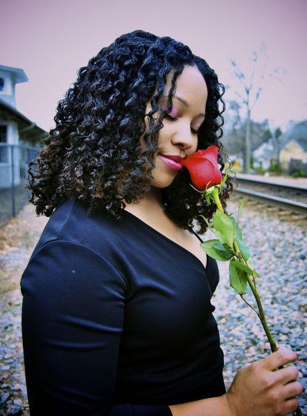 Twist Out Ebony, Winner of America's Next Natural Model