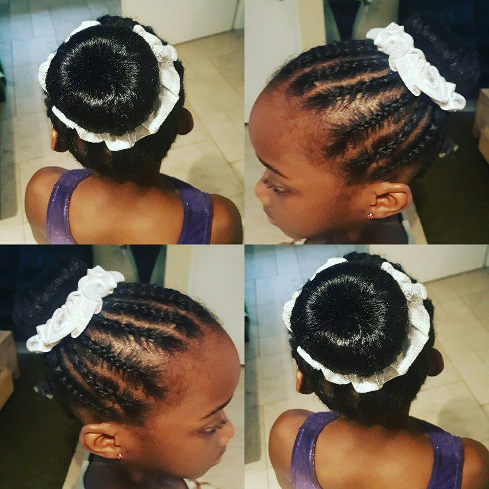 Zou00eb the 8 year old gymnast who wins titles while rocking natural hair