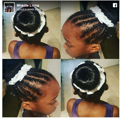 going natural hair care for girls zoe gymnast facebook1